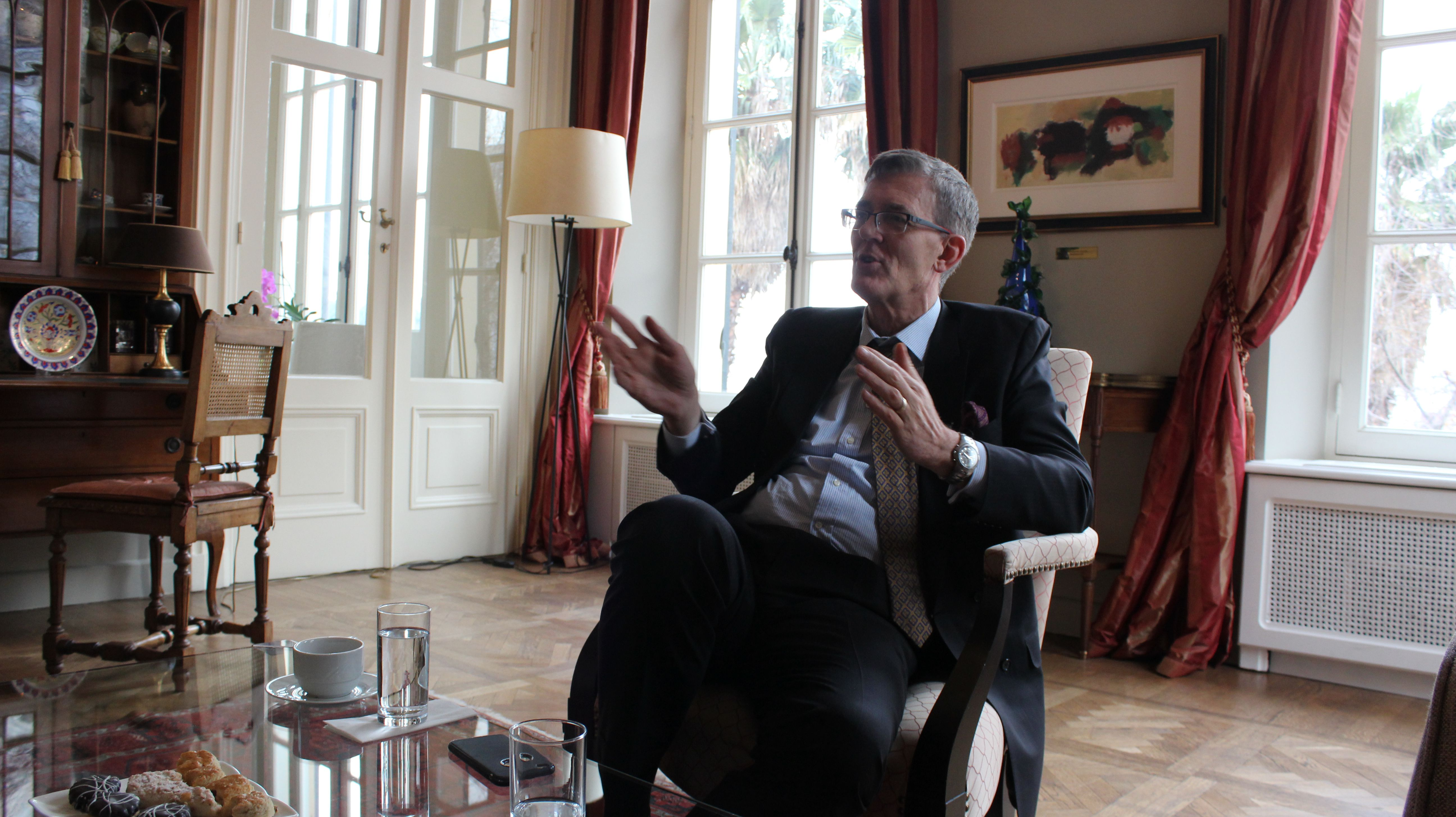 Interview with Robert Schuddeboom, Consul General of Netherlands in Istanbul